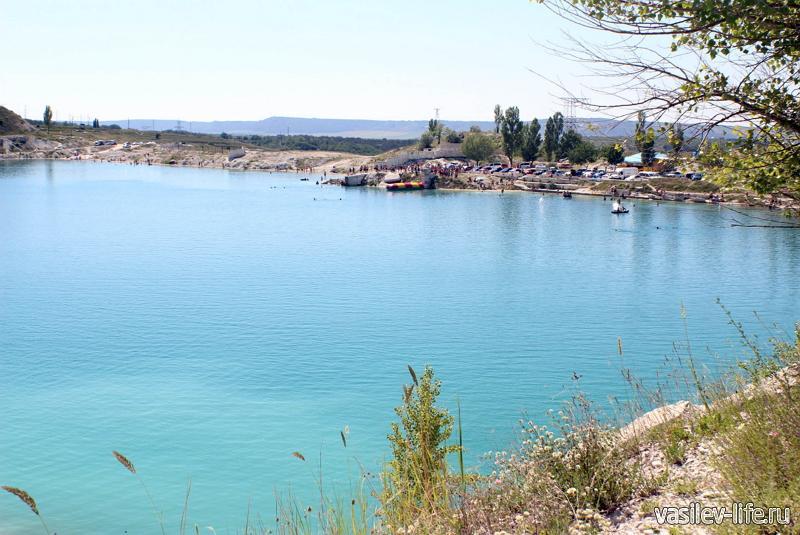 Марсианское озеро в Бахчисарае10