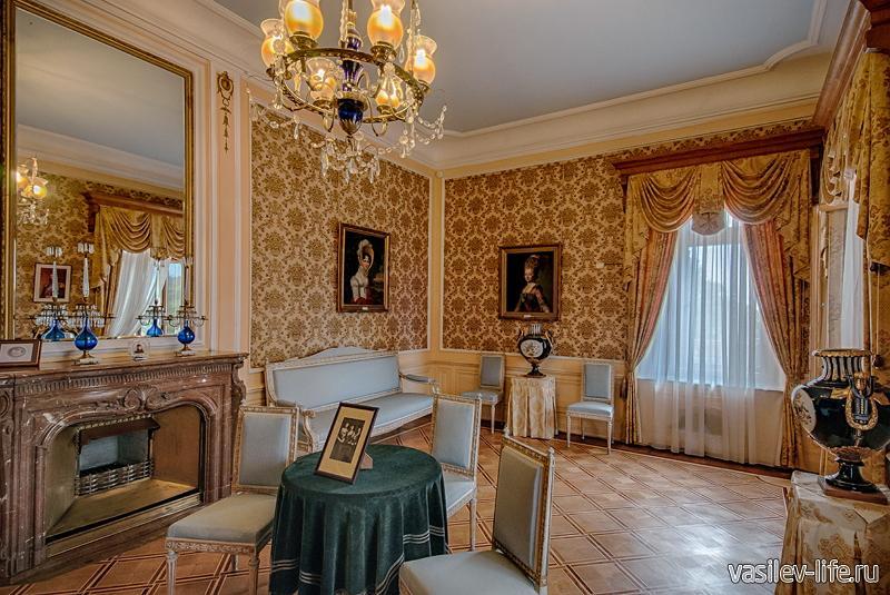 Массандровский дворец, Ялта (внутри)
