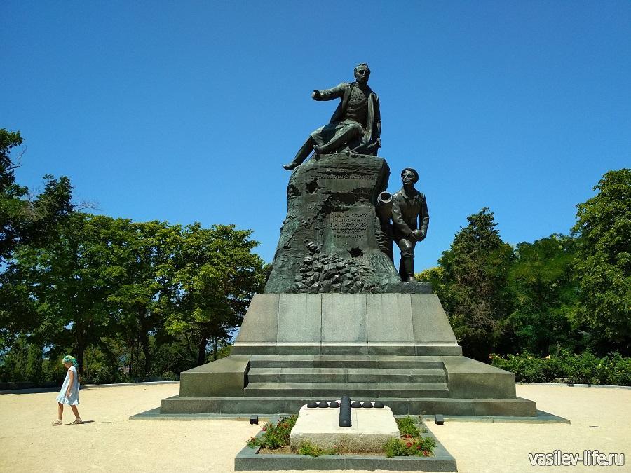 Мемориал «Малахов курган» в Севастополе (17)