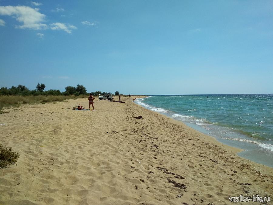 Места для отдыха с палатками в Крыму, Витино