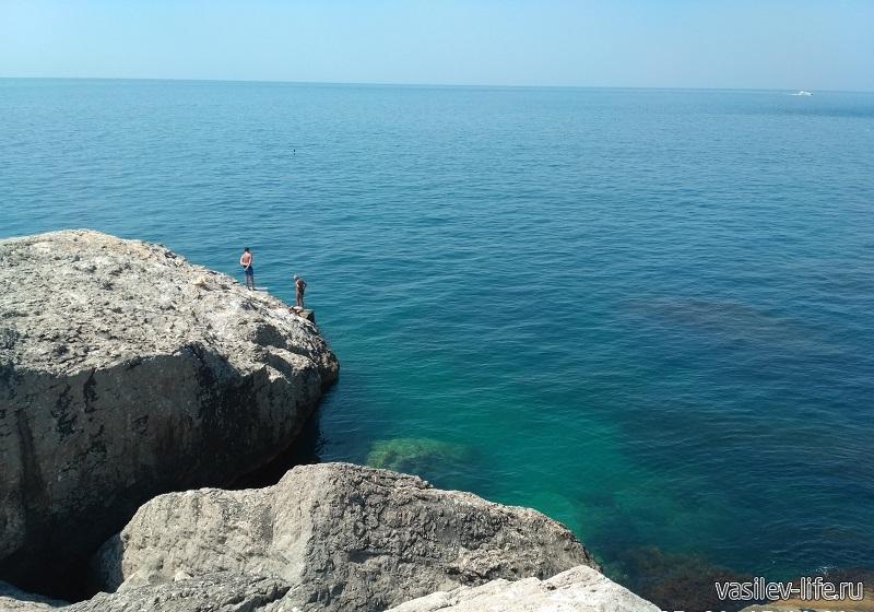 Место для прыжков в воду