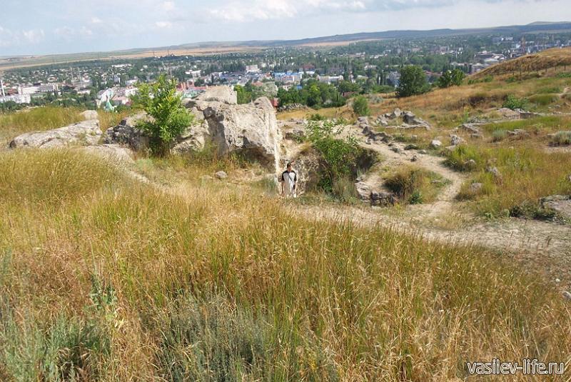 Митридат гора в Керчи 8
