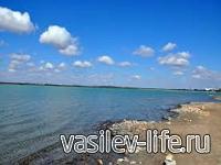 Мойнакское озеро в Крыму