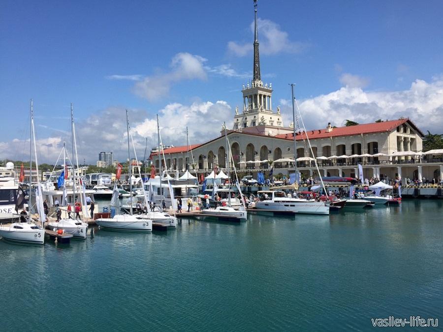 Морской порт в Сочи 99