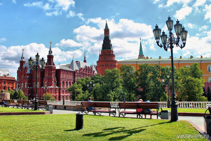 Москва в июне
