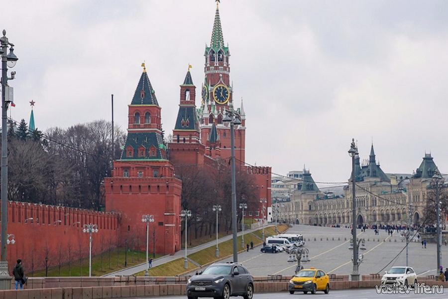 Москва в ноябре