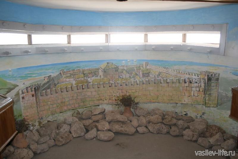 Музей «Кара-Тобе», Саки (внутри)