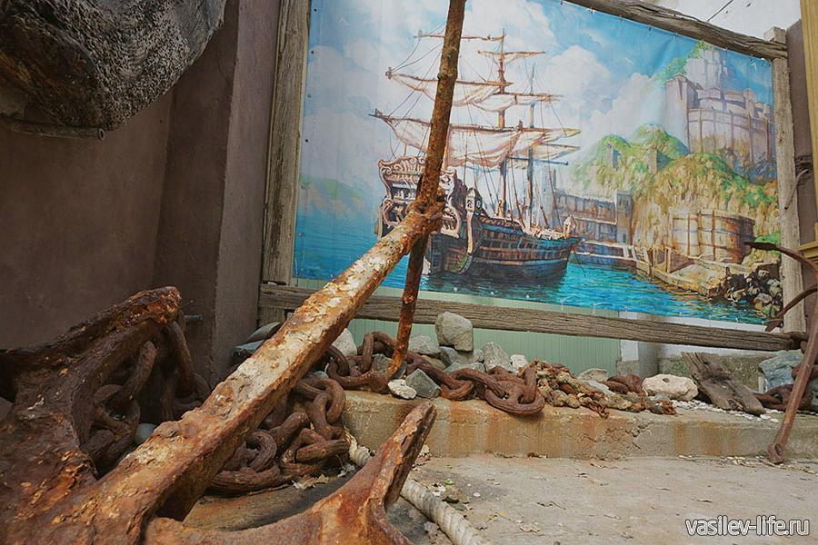 Музей «Пираты Черного моря» в Евпатории