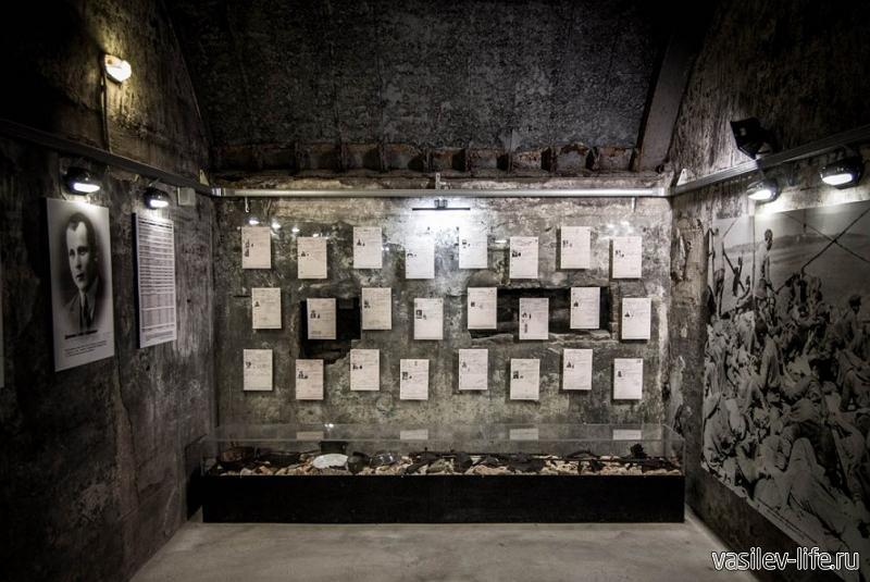 Музей «35-я батарея», внутри