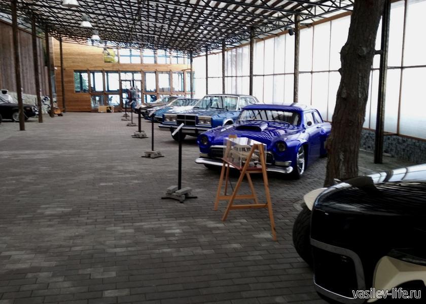 Музей автомобильного искусства, Ялта