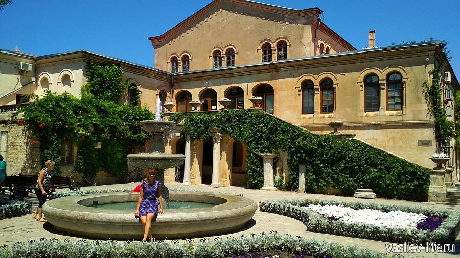 Музей на территории Херсонеса Таврического