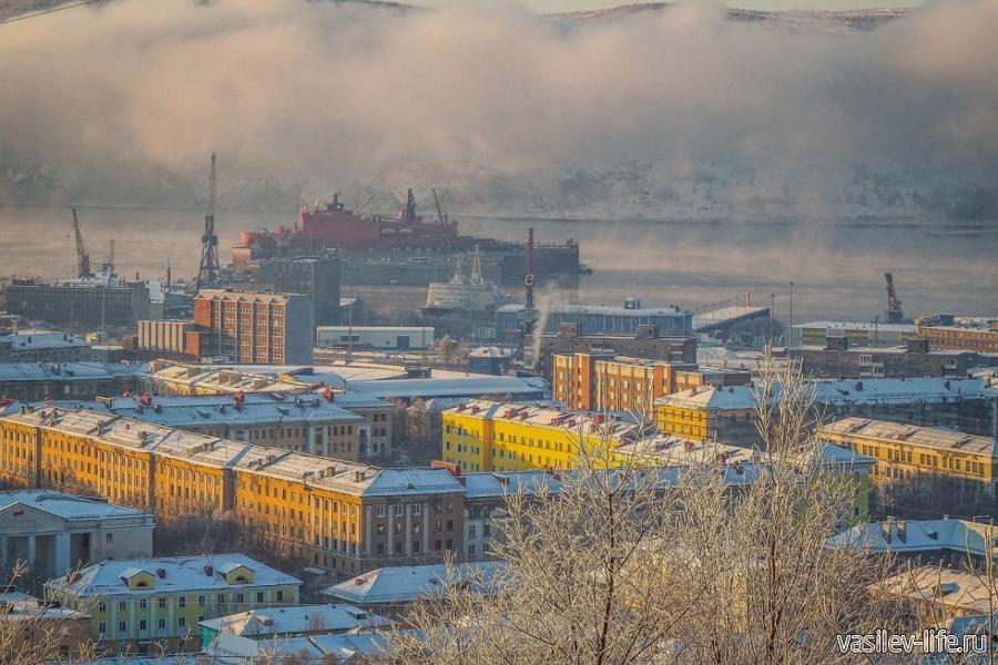 Мурманск в ноябре