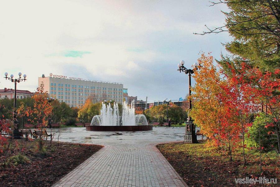 Мурманск в октябре