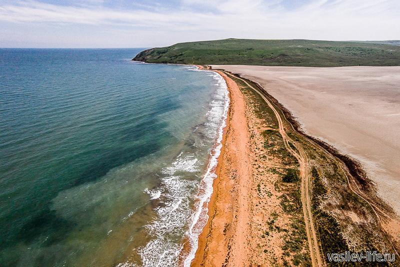 Мыс Такиль Черное и Азовское море