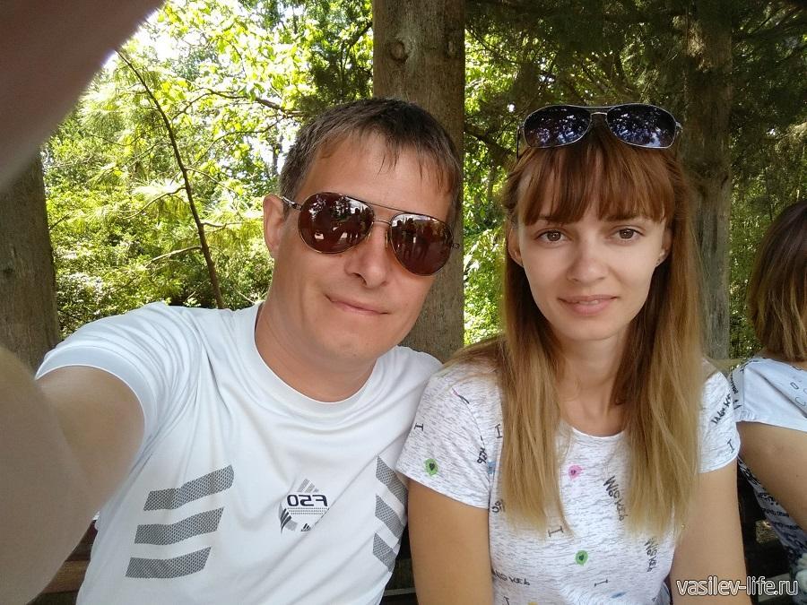Мы в Никитском ботаническом саду