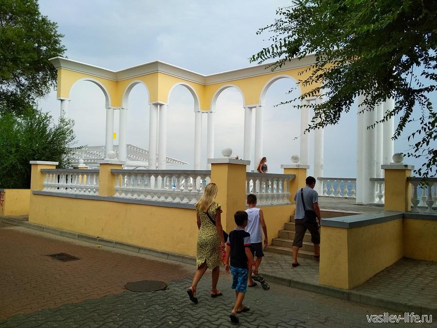 Набережная имени Горького в Евпатории (5)