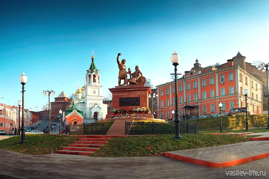 Нижний Новгород в ноябре