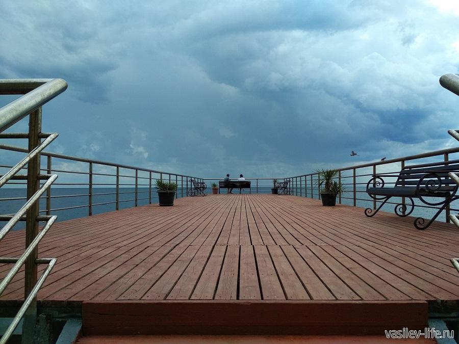 Никитский пляж в районе гостевого дома Сон у моря (6)