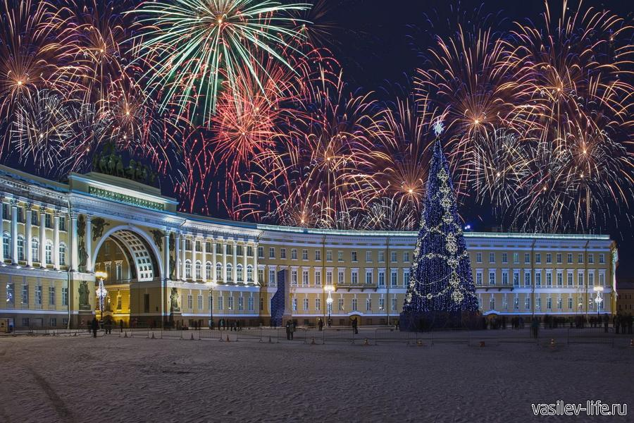 Новый год в Петербурге