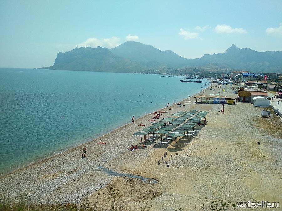 Нудистский пляж в Коктебеле Нудистский пляж в Коктебеле