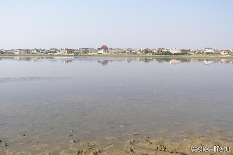 Озеро Аджиголь, Феодосия
