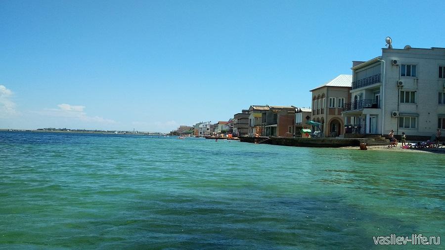 Озеро Донузлав, лучшее место для отдыха с детьми