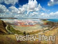 Озеро Тобечикское в Крыму