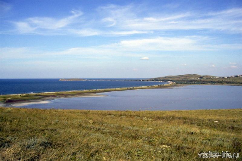 Озеро Чокрак в Крыму 10