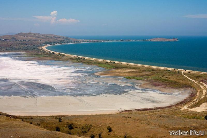 Озеро Чокрак в Крыму