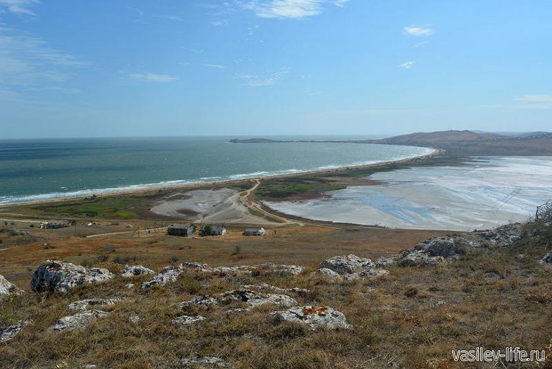 Озеро Чокрак в Крыму 4