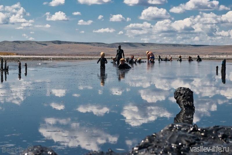Озеро Чокрак в Крыму 5