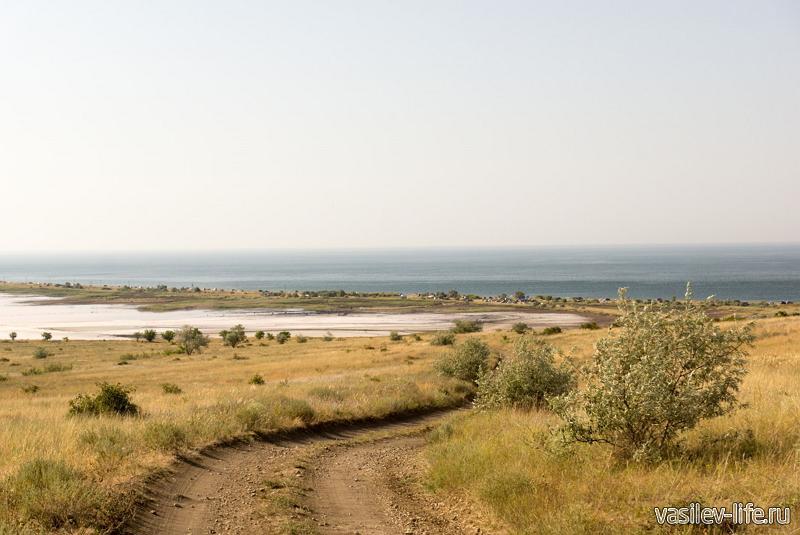 Озеро Чокрак в Крыму 9