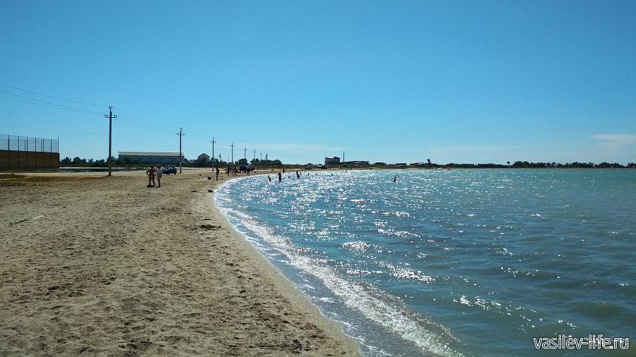 Ойбурское озеро рядом с Штормовым