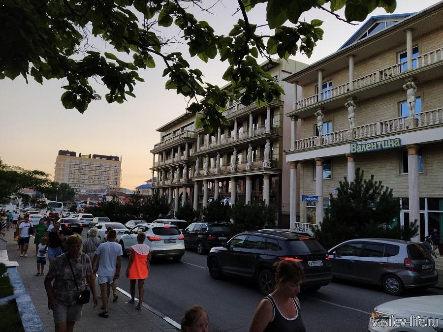 Отели в Витязево