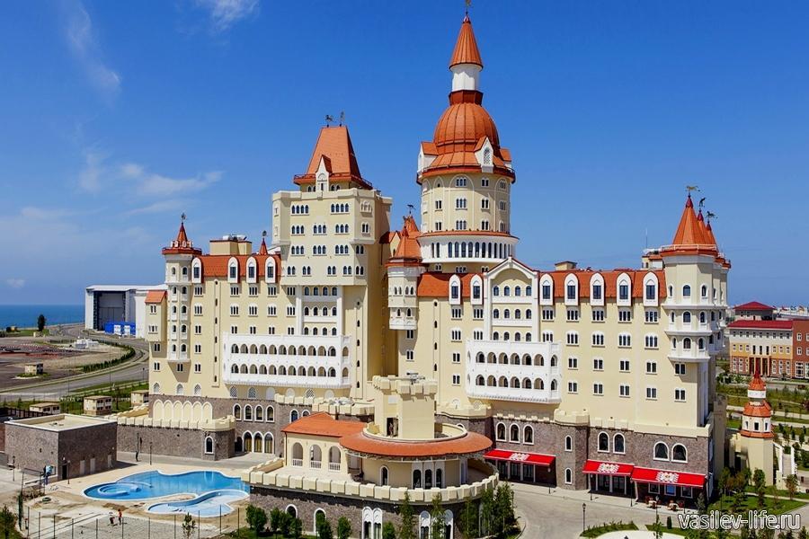Отель «Богатырь» в Адлере
