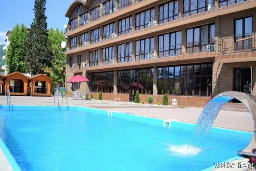 Отель «Магнолия», Абхазия