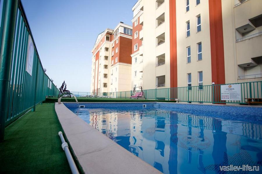 Отель «Цитрус», Алушта