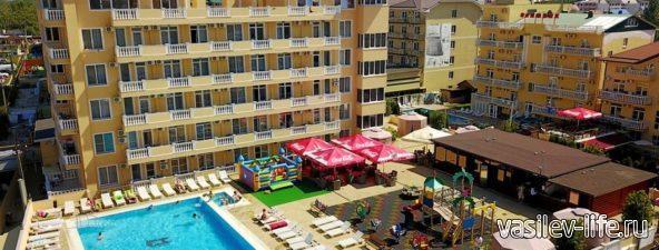 Отель Имера в Витязево