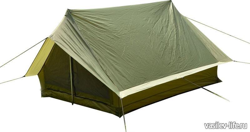 Палатка двухскатная