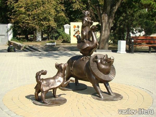 Памятник-Каштанке-Таганрог