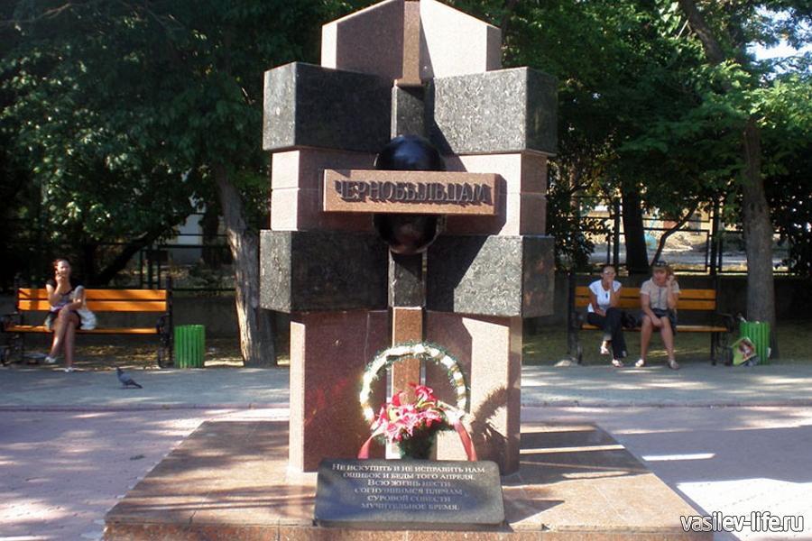 Памятник Ликвидаторам Чернобыльской аварии феодосия