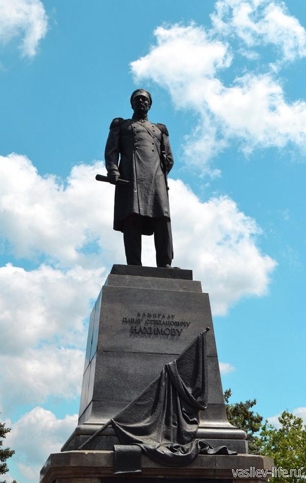 Памятник Нахимову, Севастополь