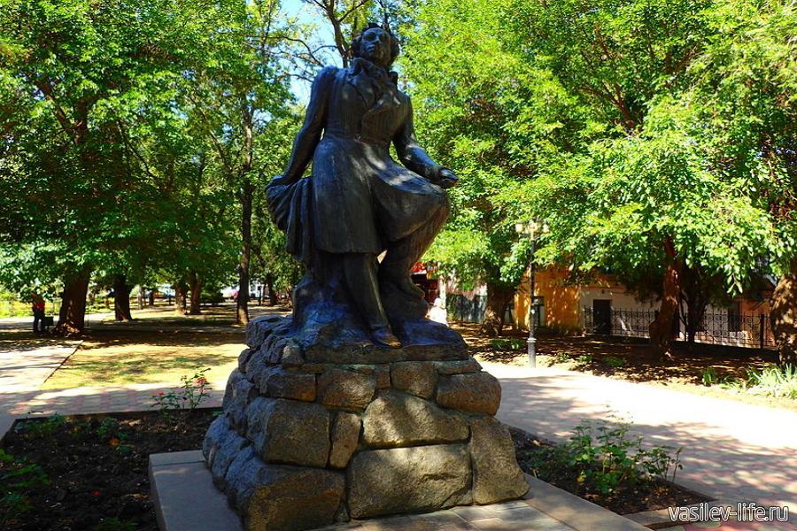 Памятник Пушкину, Феодосия