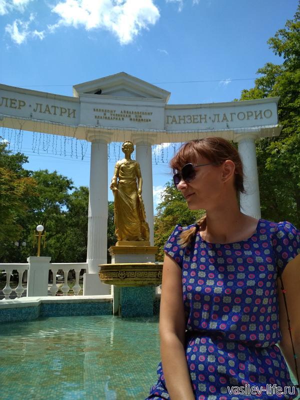 Памятник-фонтан «Доброму гению», Ульяна
