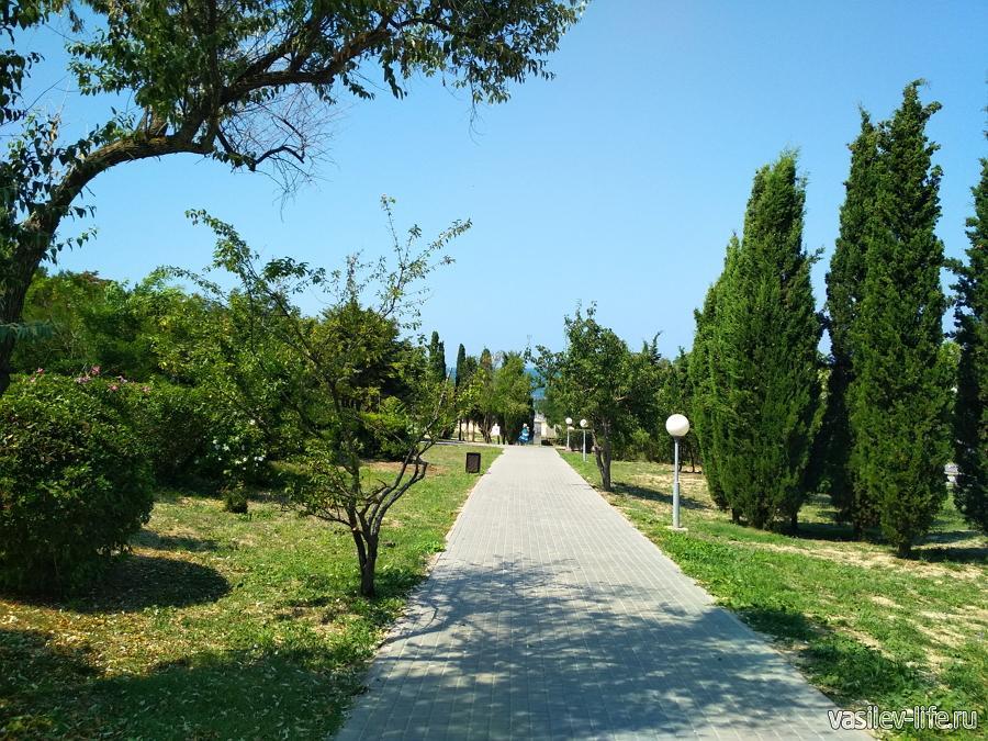 Парк Ахматовой в Севастополе
