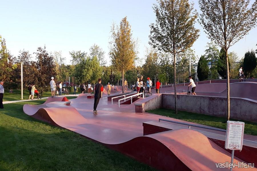 Парк Галицкого, Краснодар