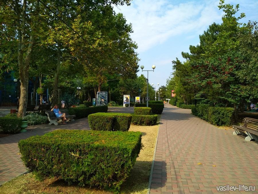 Парк Фрунзе (Евпатория) (6)