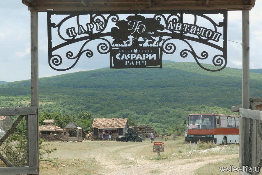 Парк антилоп «Сафари-ранч», Изюмовка