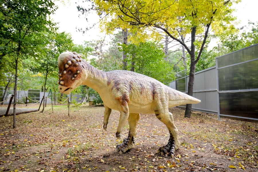 Парк динозавров «Затерянный мир» в Евпатории