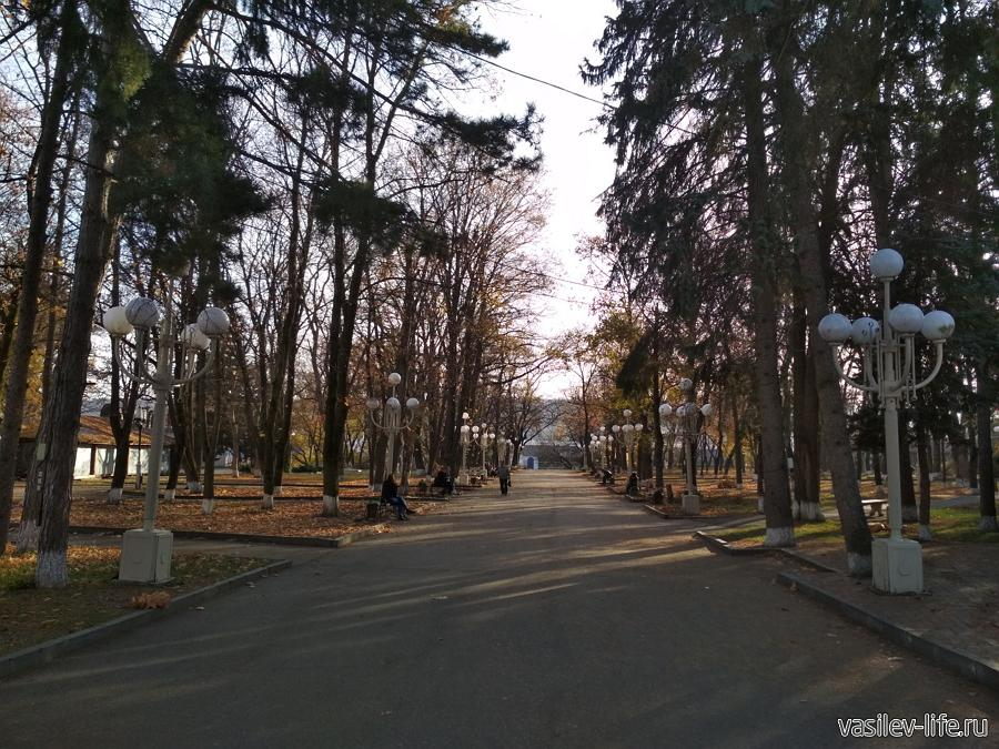 Парк им. Кирова в Пятигорске